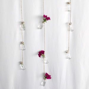 Accents - Boutique   Hanging Glass Bottles